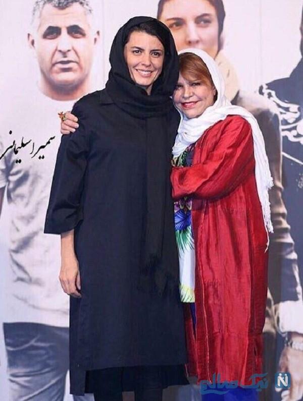 لیلا حاتمی و مادر
