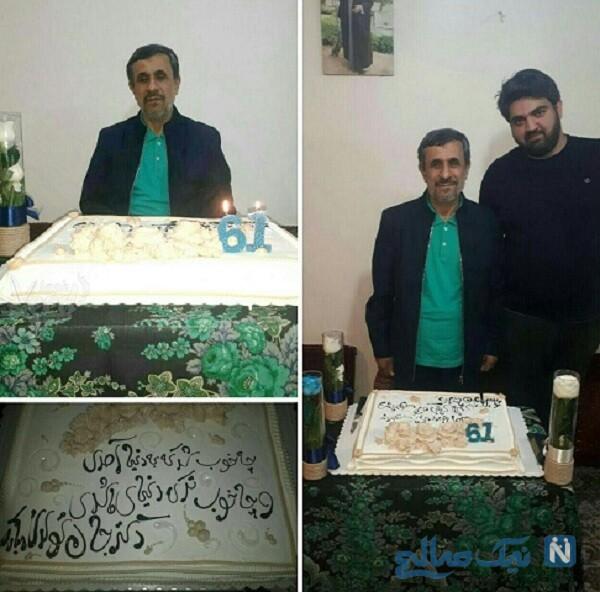 جشن تولد محمود احمدی نژاد با کیک خاص