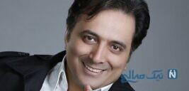 عکس جالب مجید اخشابی خواننده خوش صدا در طبیعت بسیار زیبا