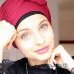 حجاب جنجالی منل ابتسام خواننده ۲۲ ساله مسلمان فرانسوی