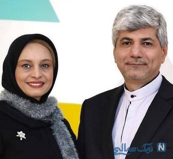 مریم کاویانی همسرش رامین مهمان پرست