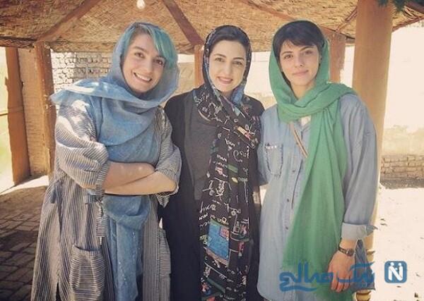الیکا عبدالرزاقی و مریم شیرازی بازیگر معروف