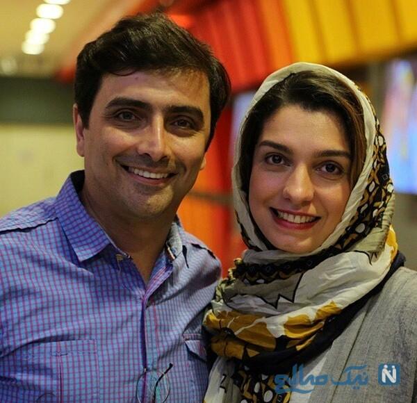 الیکا عبدالرزاقی و همسرش