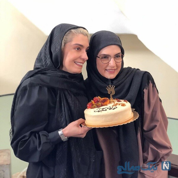 الیکا عبدالرزاقی در تولد مریم شیرازی