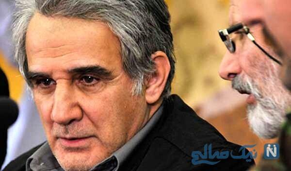 مهدی هاشمی و همسر سابقش گلاب آدینه در اوج جوانی