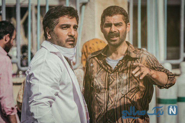 مهران مدیری و پیمان معادی در فیلم درخت گردو