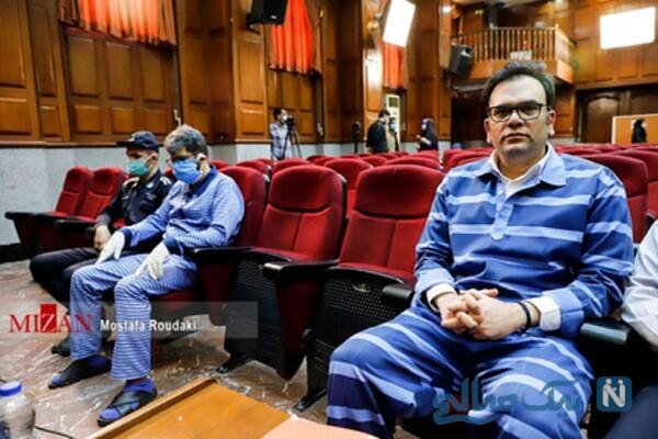 محمد امامی با لباس زندان