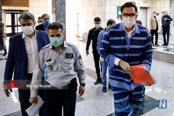 تصویری از محمد امامی در دادگاه