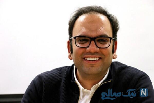 محمد امامی تهیه کننده سریال شهرزاد در دادگاه با لباس زندان