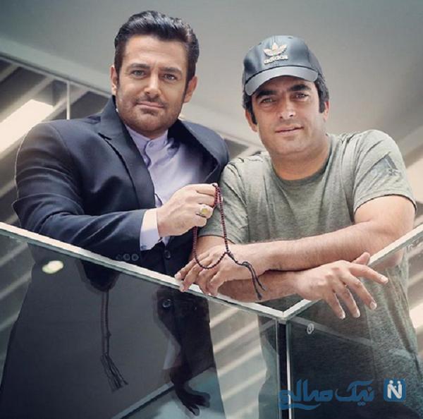 محمدرضا گلزار و منوچهر هادی کارگردان دل