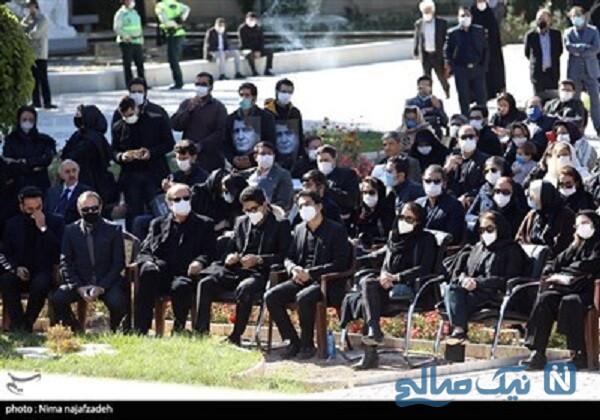 تشییع پیکر استاد آواز ایران