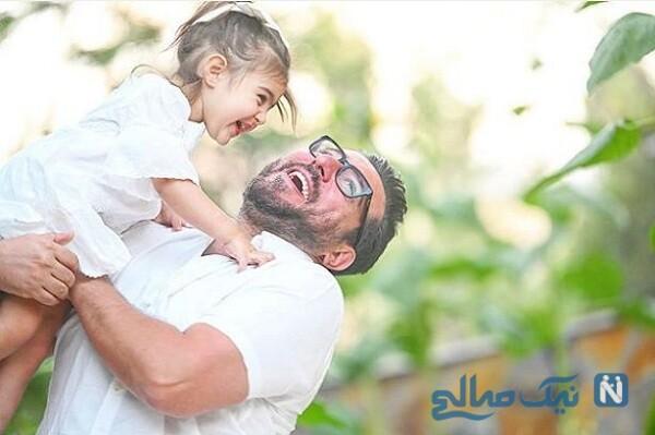 عکس جدید رز دختر محسن کیایی