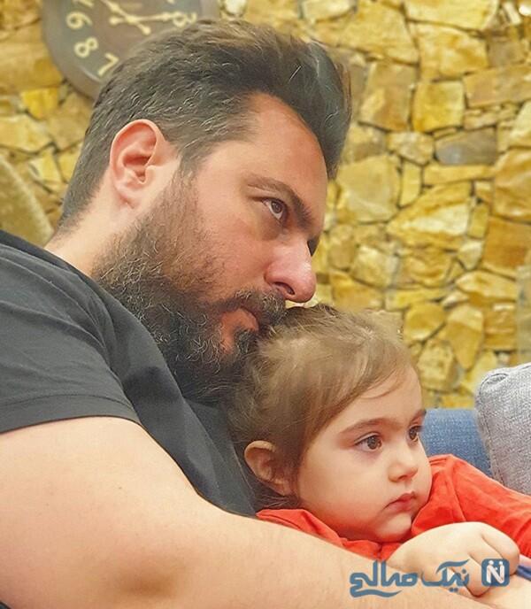 محسن کیایی دخترش رز