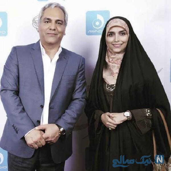 مهران مدیری و خانم مجری