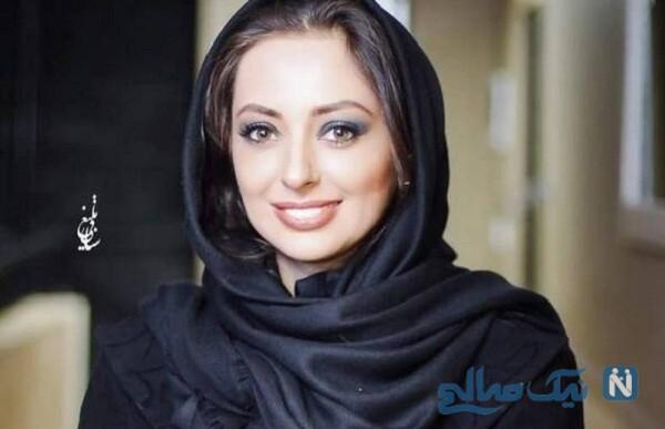 نفیسه روشن ویدیویی از مراسم عروسی اش را منتشر کرد
