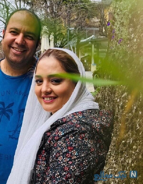 علی اوجی و همسرش
