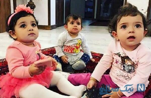 دختر و خواهرزاده یکتا ناصر