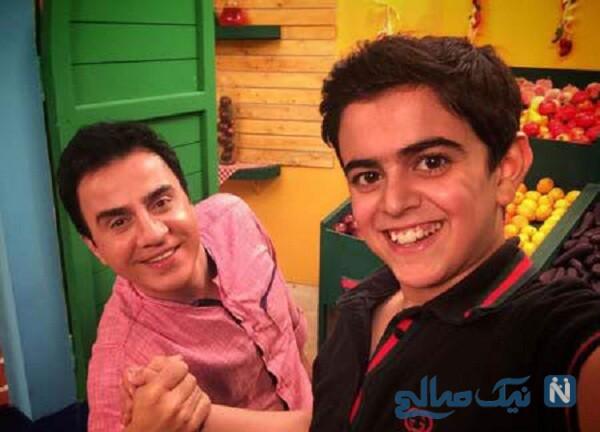 عمو پورنگ و امیر محمد