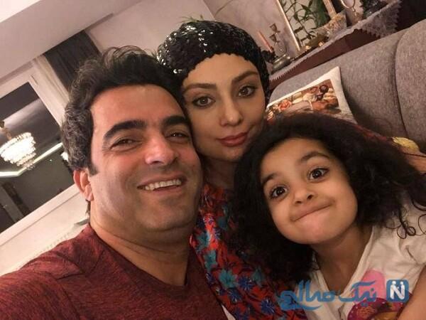 همسر و دختر یکتا ناصر