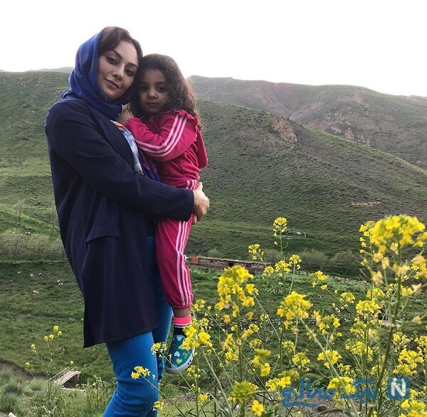 عکس جدید یکتا ناصر و دخترش در طبیعت