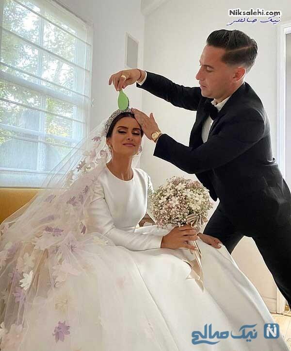 عروس بیژن پاکزاد فقید