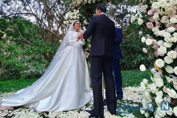 پسر بیژن پاکزاد طراح مد معروف و عکس های عروسی مجلل او