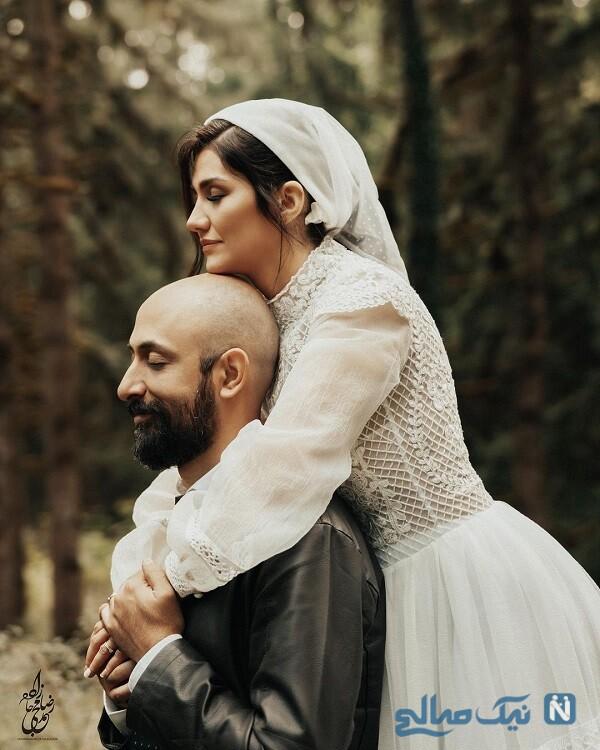 ازدواج خواهر شاهرخ استخری