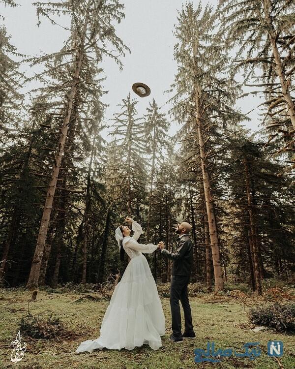 عروسی نیلوفر استخری
