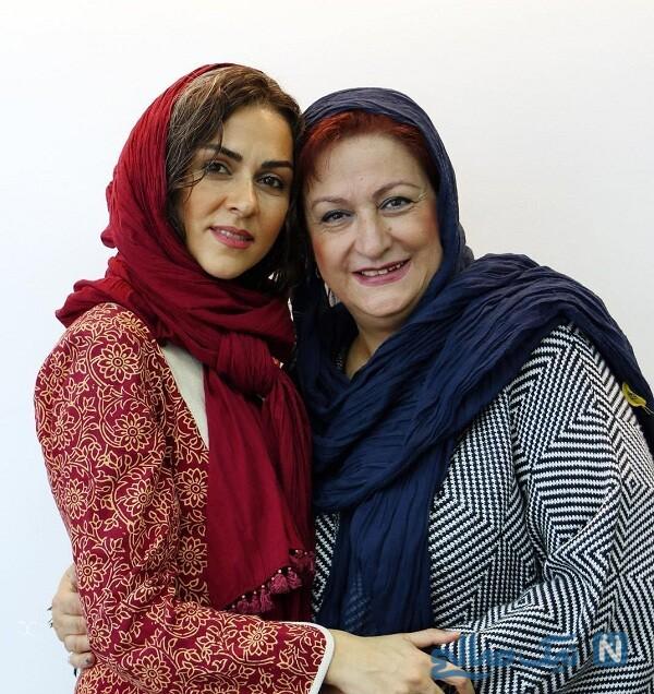 مریم امیرجلالی و شیوا ابراهیمی