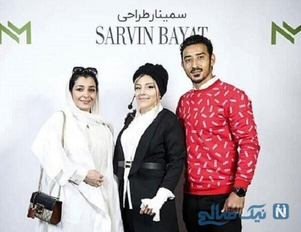 همسر و خواهر همسر رضا قوچان نژاد