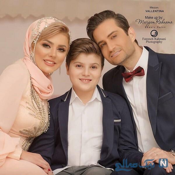 عکس خانوادگی بازیگر معروف