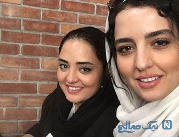 عکس سلفی نرگس محمدی و خواهرش