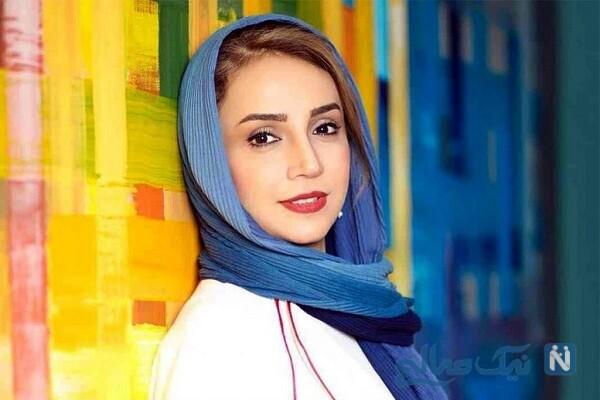 قایق سواری شبنم قلی خانی بازیگر سریال مانکن در پاییز دل انگیز