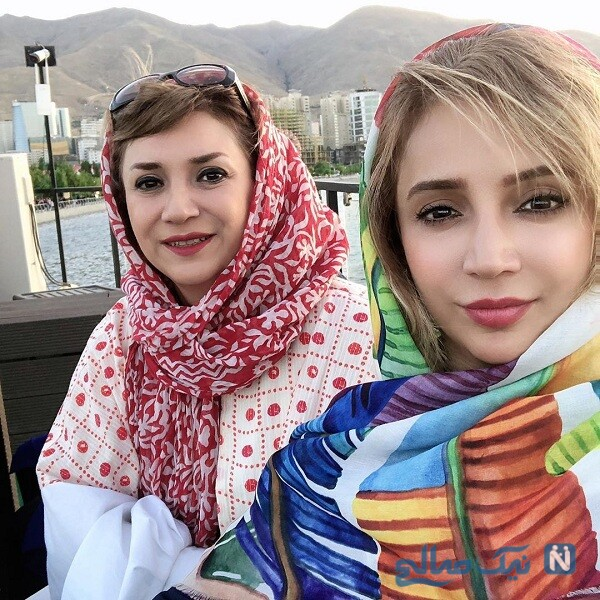 تصویری از شبنم قلی خانی خواهرش