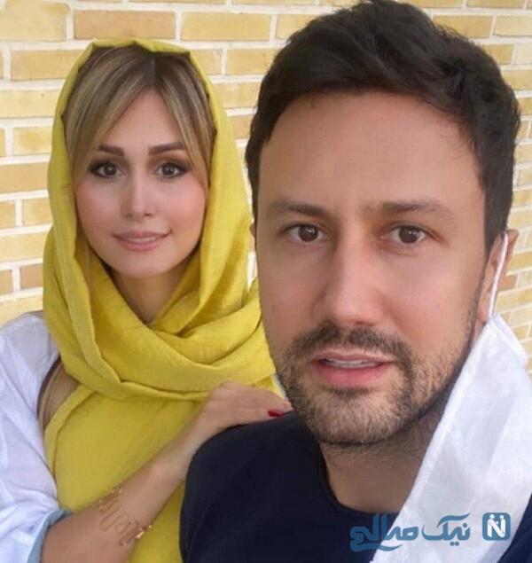 همسر بازیگر ایرانی