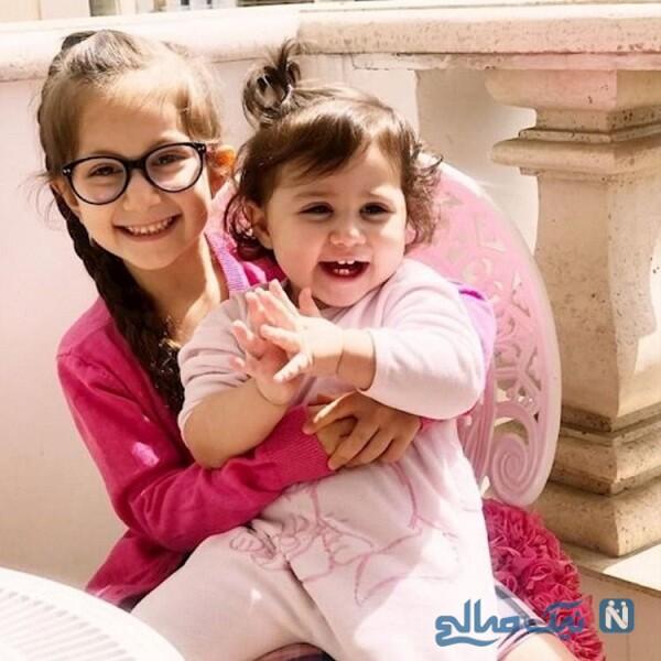 استوری جدید شاهرخ استخری از دخترانش