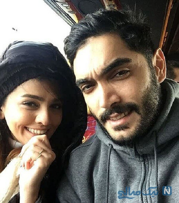 عکس جدید سیما خضر آبادی و همسرش