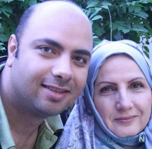 زهرا سعیدی و پسرش