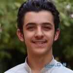 بازی علی شادمان بازیگر جوان با حیوان خانگی بامزه اش