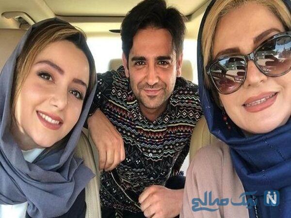 امیرحسین آرمان و خانم های بازیگر