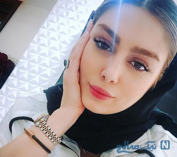 چهره جدید سحر قریشی بازیگر معروف
