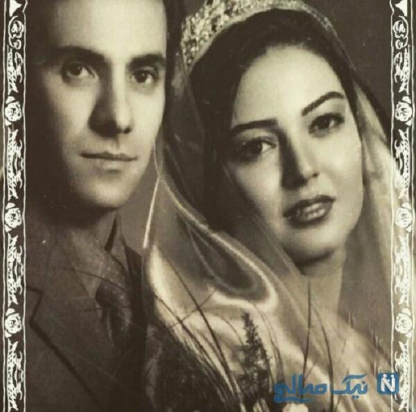 عکس عروسی رزیتا غفاری و همسرش
