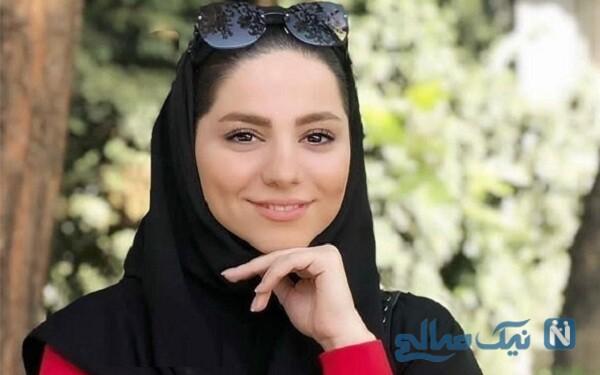 تبریک تولد محیا اسناوندی مجری معروف برای همسرش مجتبی کشاورز