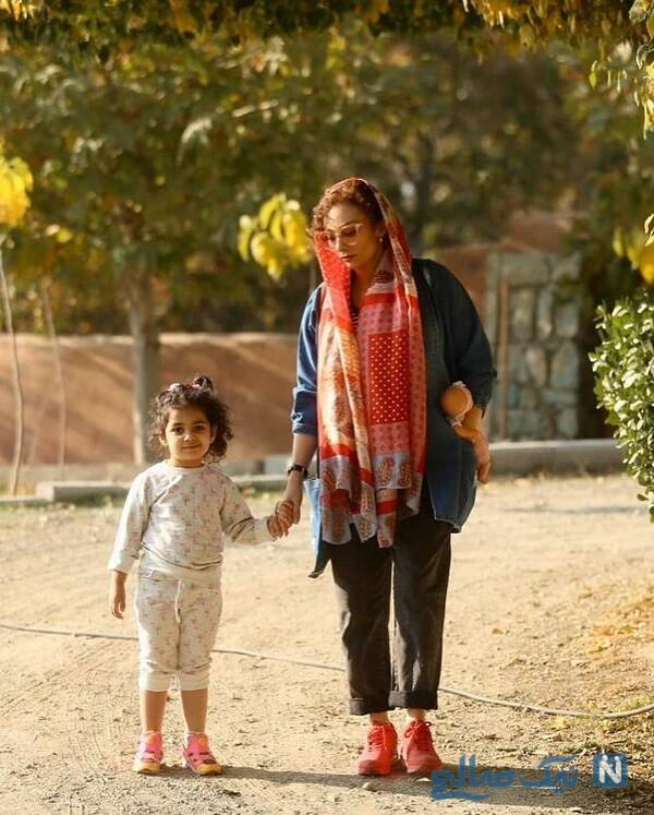 بازیگر عاشقانه و دخترش