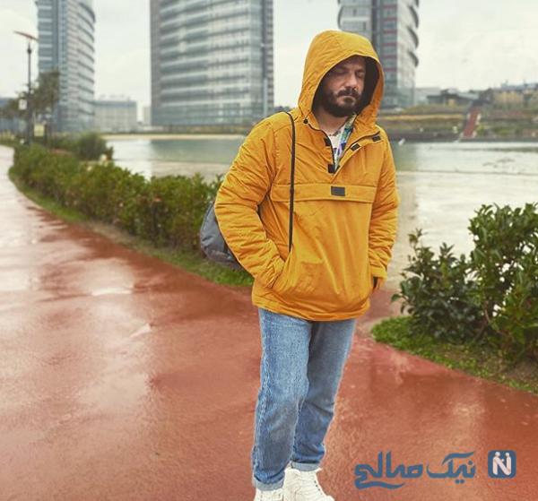 استایل جدید عباس غزالی