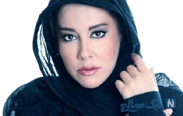 آشا محرابی بازیگر سریال موچین در کافه هنرپیشه معروف ایرانی