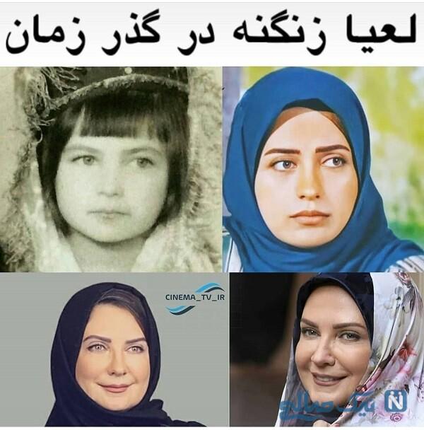 گذر زمان بازیگر زن