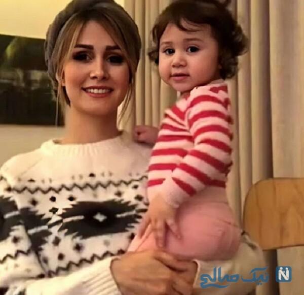 همسر و دختر شاهرخ استخری بازیگر