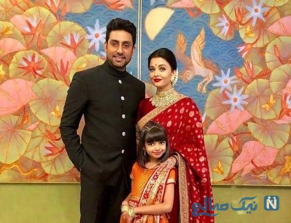 عکس خانوادگی آیشواریا رای بازیگر