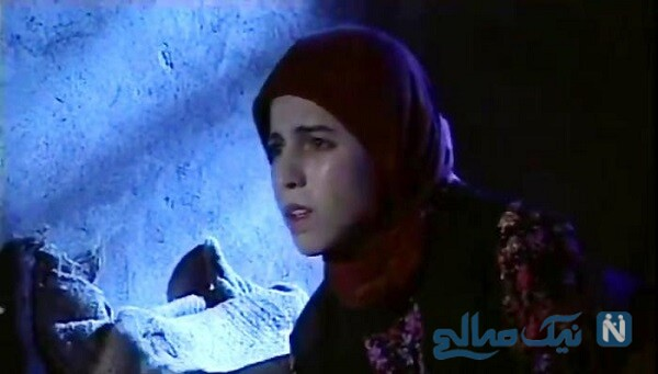 اکرم مهدوی بازیگر شیرین در سریال پس از باران در گذر زمان